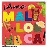 1art1 100829 Spanien - Amo Mallorca Poster-Sticker Tattoo