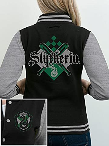 CID Harry Potter-House Slytherin Veste Homme, Multicolore, FR : XL (Taille Fabricant : XL)