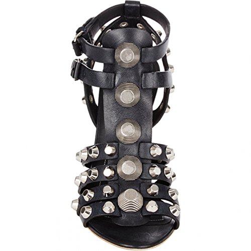 Minitoo , Sandales Compensées femme Noir - noir
