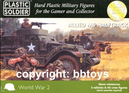 Une nouvelle génération, nouvelle sélection!15mm WW2 Allied M5 Halftrack | Outlet Store