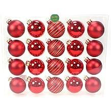 Rote Christbaumkugeln Glas.Suchergebnis Auf Amazon De Fur Rote Christbaumkugeln Glas N A