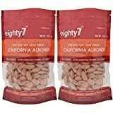 Eighty7 California Almonds - Pack Of 2, 500g
