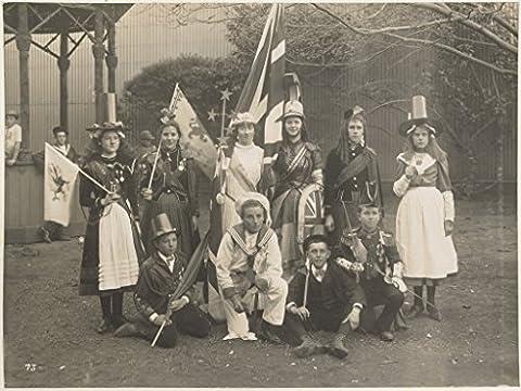 Et Costume Melbourne - POSTER Fancy dress national costume Melbourne federation