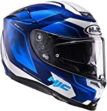 Motorradhelm HJC RPHA 70 mit Sonnenblende SPORTHELM, MC2 - blau, XXL