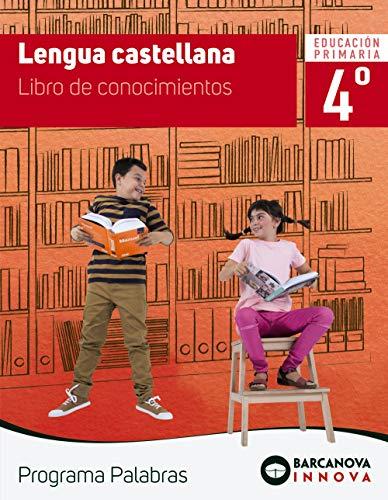 Palabras 4. Lengua castellana. Conocimientos (Innova)