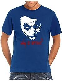 Touchlines Men's T-Shirt Joker - Why So Serious?