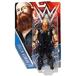 WWE ERICK ROWAN WYATT FAMIGLIA THE ACTION SERIE BASIC 57 MATTEL WRESTLING FIGURE