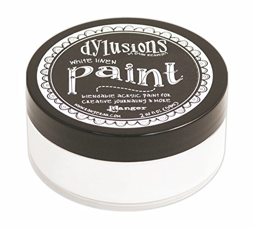 Dyan Reaveley's Dylusions Paint 2oz-White Linen