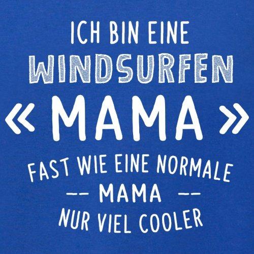 Ich bin eine Windsurfen Mama - Herren T-Shirt - 13 Farben Royalblau