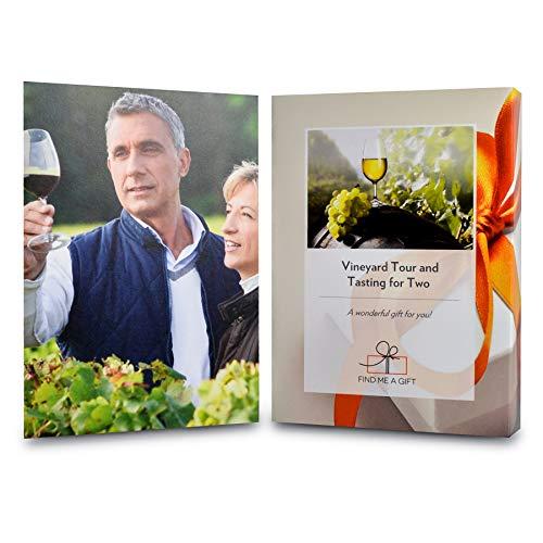 Cofanetto regalo esperienza Vineyard Tour & Tastings per 2 persone, scegliete 1tra le 12destinazioni e godetevi le delizie di un vigneto inglese insieme