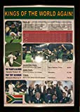 Sports Prints UK South Africa 2019 Rugby World Cup winners - framed print