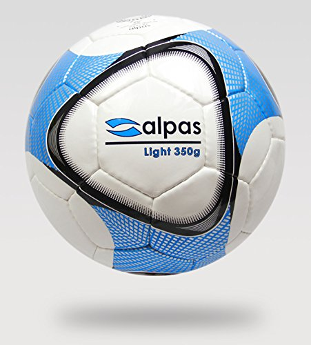 10x alpas Leichtbälle / Leichtball / Fußbälle Gr.5 - 350g