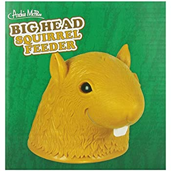 Accoutrements Big Head Squirrel Feeder by Accoutrements