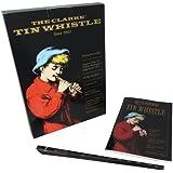 Clarke WTCD Pack de sifflet en Ré avec livret/CD Noir