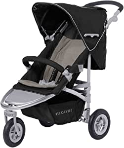 Red castle poussette 3 roues whizz grand luxe noir taupe b b s pu riculture - Notice porte bebe red castle sport ...