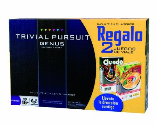 juegos-de-adultos-hasbro-98888500-trivial-pursuit-genus-simon-viaje-cluedo-viaje-edicion-master