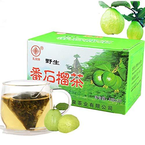 Chino Herbal Tea Hojas de guayaba Té Bolsas de té 40 g Nuevo té perfumado Té verde Cuidado de la salud Flores Té de calidad superior Comida verde saludable