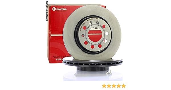Disco Freno Anteriore con verniciatura UV Set di 2 dischi Brembo 09.8695.11