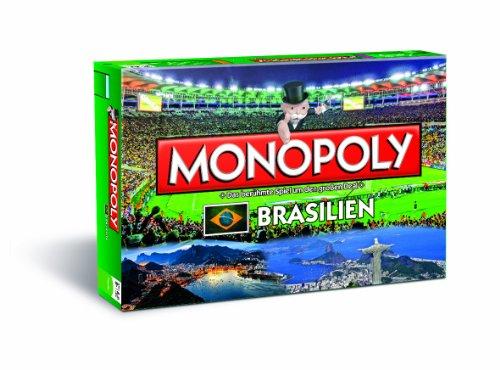 Winning Moves 43416 - Monopoly: Brasilien 2014