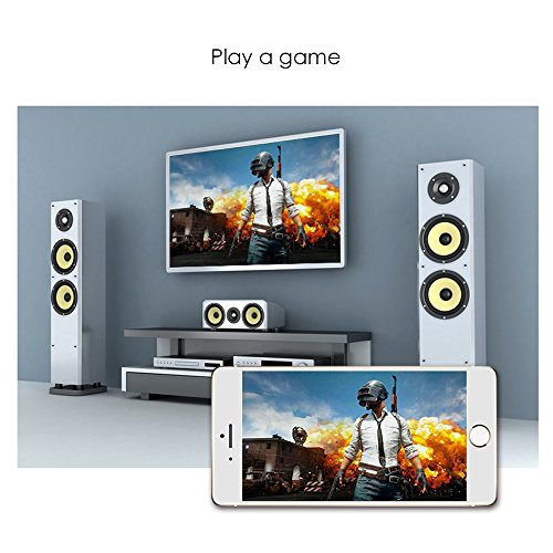 Miracast Dongle  OXOQO Wifi HDMI Transmitter Multi-Screen Receiver Wireless Display HD Screen Sender for TV  Projector  Game  Car TV  GPS