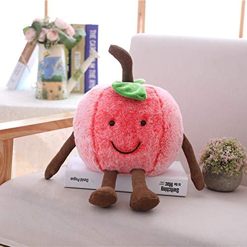 weiqiang Simulation Ausdruck Obst Gemüse Kissen Kirsche Plüschtier Wassermelone Kissen Kind Mädchen Hochzeitsgeschenk Puppe 20cm Kirsche