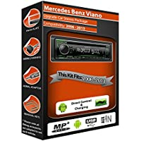 Mercedes Vito stereo radio, Kenwood CD MP3Reproductor con USB en la parte delantera Aux en