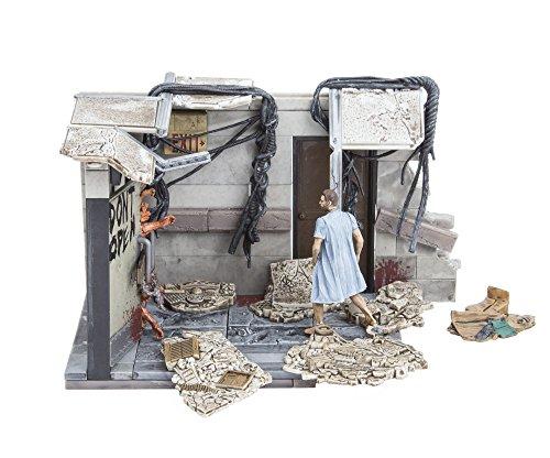 McFarlane- Puzles The Walking Dead Set de Construcci&oacuten Puertas Hospital, Multicolor, Ninguna (MC Farlane 14524-3) 3
