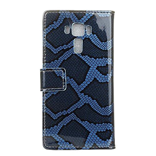 Voguecase® für Apple iPhone 7 4.7 hülle,(Gelb Leopard) Kunstleder Tasche PU Schutzhülle Tasche Leder Brieftasche Hülle Case Cover + Gratis Universal Eingabestift Nashorn Muster 3/Blau