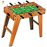 Foosball Table Game Full Size for Kids Adult and Office Hotel Restaurant 2 player to 6 players full size Mini Football Table Soccer Game Football Mini Football Office Soccer Game