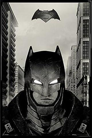 Batman Vs Superman Ben Costume Affleck - Batman Vs Superman Poster et Cadre (Plastique)