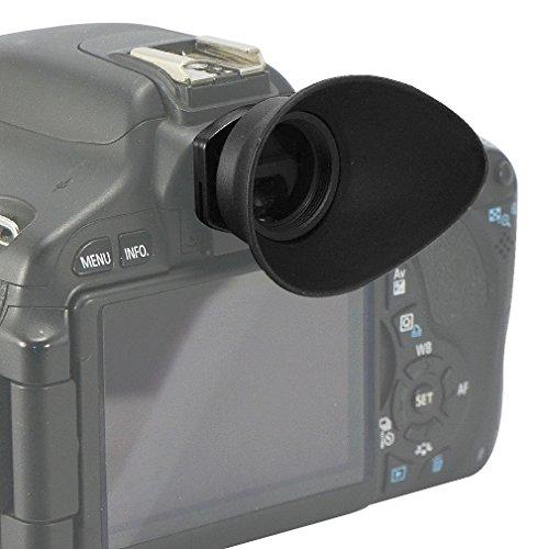 First2savvv DSLR reemplazo tapa del ocular y el ocular para para Canon EOS 100D 1200D 1100D 1000D 550D 500D 450D DSLR Camera - QJQ-TX-P-EF-BP01