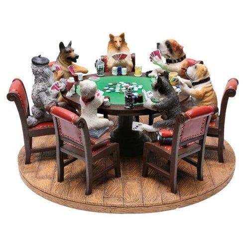 """Preisvergleich Produktbild Dry Branch Sports Design 9"""" Poker Dogs Figure by Dry Branch Sports Design"""