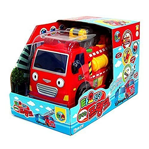 The Little Bus Tayo Talking FRANK (Fire truck) - friction powered car