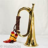 Best Brass Instruments - Bespoke Military Solid Brass Bugle Royal Artillery B Review