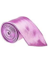 3 Inch Wide Classic Satin Plain Men's / Boys Wedding or Work Tie (Various Colours)