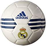 #9: adidas Performance Real Madrid Soccer Ball White/Ray Purple/Collegiate Royal Size 5