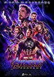 Sconosciuto Avengers: Endgame Film Poster Stampa Film Art Marvel 2019 Iron Man Thanos Ufficiale Poster del Film 017 (A5-a4-a3) - A4