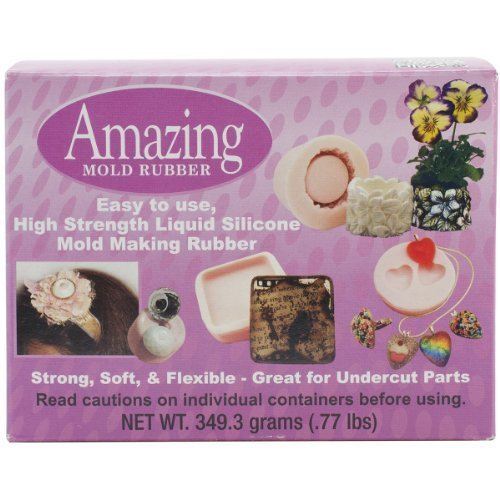 Alumilite Amazing Mold Rubber Kit, 0 77- Pound by Amazing Mold Putty