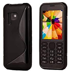 S Line Grip Back Case Cover for Nokia 222