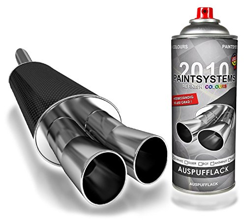 Paintsystems 400ml Auspufflack bis 650°, Silber