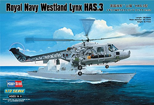 Hobby Boss 87237 Modellbausatz Royal Navy Westland Lynx HAS.3