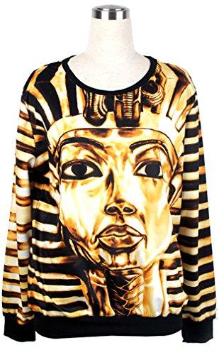 THENICE Femme impression manches longues Sweat-shirts Mummy