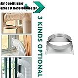 Womdee Guarnizione per Finestra per Condizionatore e Asciugatrice, Guarnizione Universale per Finestra per Climatizzatori Mobili e Asciugatrici Adatta a Condizionatori Portatili Facile da Installare
