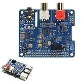 DAC II Hifi Sound Card 384-kHz/32-bit DSD/APE/FLAC/WAV Music Player Audio Expansion Board ES9018K2M For Raspberry Pi 3B+/3B/2B
