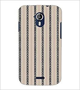 PRINTSWAG LINES PATTERN Designer Back Cover Case for MICROMAX A116 CANVAS HD