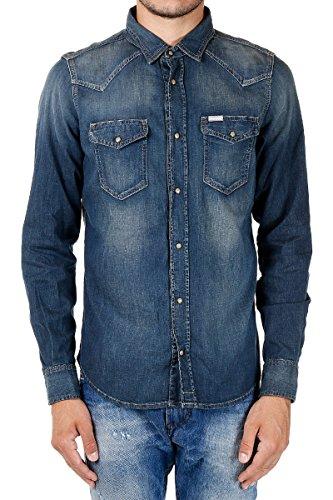 Diesel new-sonora camicia di jeans