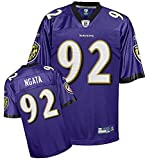 NFL Football Trikot/Jersey Premier BALTIMORE RAVENS Ngata #92 purple in S (SMALL)