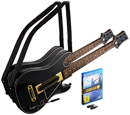 Guitar Hero Live: 2 Gitarren-Bundle - [PlayStation 4] (Rock 3-schlagzeug Ps3 Band)