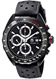 Tag Heuer Formula 1 CAZ2011.FT8024 44mm Automatic Stainless Steel Case Black Calfskin Anti-Reflective Sapphire Men's Watch