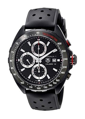 Tag Heuer Formula 1 Men's 44mm Chronograph Automatic Date Watch CAZ2011.FT8024